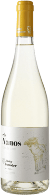 5,95 € Free Shipping | White wine Josep Foraster Els Nanos Blanc del Coster D.O. Conca de Barberà Catalonia Spain Macabeo Bottle 75 cl