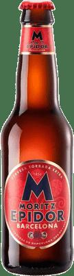 0,95 € Kostenloser Versand   Bier Cervezas Moritz Epidor Katalonien Spanien Botellín Tercio 33 cl