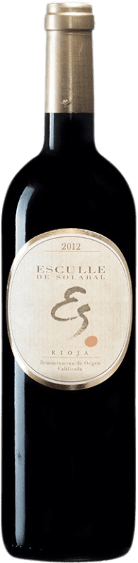 22,95 € Free Shipping | Red wine Solabal Esculle D.O.Ca. Rioja Spain Tempranillo Bottle 75 cl