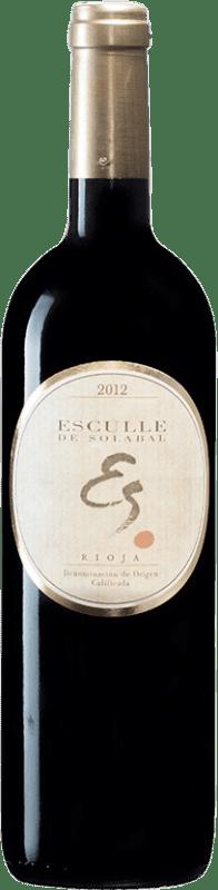 22,95 € Envoi gratuit   Vin rouge Solabal Esculle D.O.Ca. Rioja Espagne Tempranillo Bouteille 75 cl