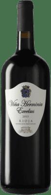 29,95 € Free Shipping | Red wine Viña Herminia Excelsus D.O.Ca. Rioja Spain Tempranillo, Grenache Magnum Bottle 1,5 L