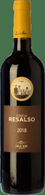 18,95 € Envío gratis | Vino tinto Emilio Moro Finca Resalso D.O. Ribera del Duero Castilla y León España Tempranillo Botella Mágnum 1,5 L