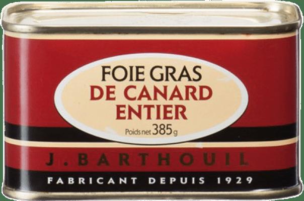 78,95 € Free Shipping | Foie y Patés J. Barthouil Foie de Canard Entier France