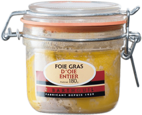 58,95 € Free Shipping | Foie y Patés J. Barthouil Foie d'Oie Entier France