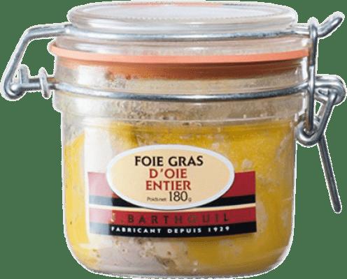 48,95 € Envío gratis | Foie y Patés J. Barthouil Foie d'Oie Entier Francia