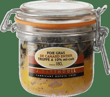 61,95 € Envío gratis | Foie y Patés J. Barthouil Foie Gras de Canard Truffé Francia