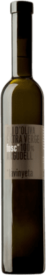 9,95 € Envío gratis | Aceite La Vinyeta Fosc Oli Oliva Argudell Cataluña España Botella Medium 50 cl