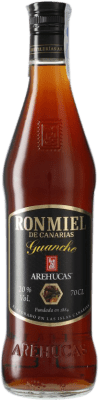 8,95 € Free Shipping | Rum Arehucas Guanche Ron Miel Canary Islands Spain Bottle 70 cl