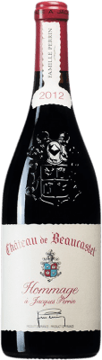 584,95 € Free Shipping | Red wine Château Beaucastel Hommage à Jacques Perrin A.O.C. Châteauneuf-du-Pape France Syrah, Mourvèdre Bottle 75 cl