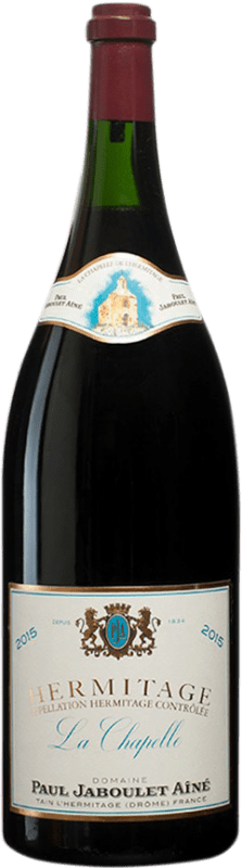 1 291,95 € Free Shipping | Red wine Jaboulet Aîné La Chapelle A.O.C. Hermitage France Syrah Jéroboam Bottle-Double Magnum 3 L