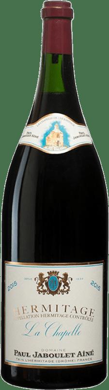 5 144,95 € Envío gratis | Vino tinto Jaboulet Aîné La Chapelle A.O.C. Hermitage Francia Syrah Botella Balthazar 12 L