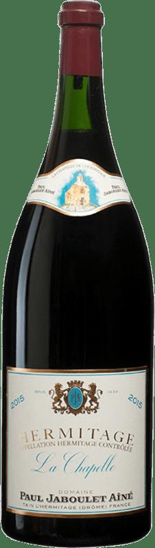 3 959,95 € Envío gratis | Vino tinto Jaboulet Aîné La Chapelle A.O.C. Hermitage Francia Syrah Botella Salmanazar 9 L