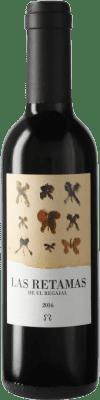 5,95 € Envío gratis | Vino tinto El Regajal Las Retamas D.O. Vinos de Madrid Comunidad de Madrid España Tempranillo, Merlot, Syrah, Cabernet Sauvignon Media Botella 37 cl