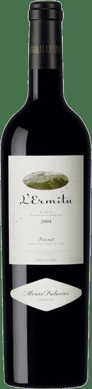 1 098,95 € Envío gratis | Vino tinto Álvaro Palacios L'Ermita 2004 D.O.Ca. Priorat Cataluña España Garnacha, Cabernet Sauvignon Botella 75 cl
