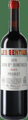 84,95 € Free Shipping | Red wine Finques Cims de Porrera Les Sentius d'en Joan Bta. Domènech 2005 D.O.Ca. Priorat Catalonia Spain Carignan Bottle 75 cl