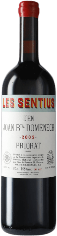 91,95 € Free Shipping | Red wine Cims de Porrera Les Sentius d'en Joan Bta. Domènech 2005 D.O.Ca. Priorat Catalonia Spain Carignan Bottle 75 cl