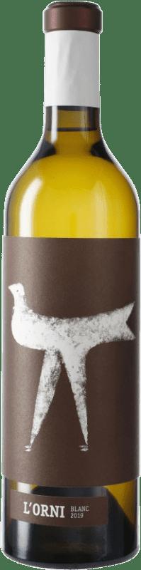 11,95 € Free Shipping | White wine Vins de Pedra L'Orni Blanc D.O. Conca de Barberà Catalonia Spain Chardonnay Bottle 75 cl