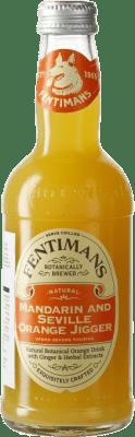 2,95 € Envío gratis | Refrescos Fentimans Mandarin & Seville Orange Jigger Reino Unido Botellín 27 cl