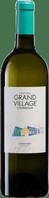 25,95 € Free Shipping | White wine Château Grand Village A.O.C. Bordeaux Bordeaux France Sauvignon White, Sémillon Bottle 75 cl
