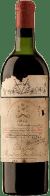 15 312,95 € Free Shipping | Red wine Château Mouton-Rothschild 1945 A.O.C. Pauillac Bordeaux France Merlot, Cabernet Sauvignon, Cabernet Franc Bottle 75 cl