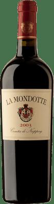 364,95 € Free Shipping | Red wine La Mondotte 2003 A.O.C. Saint-Émilion Bordeaux France Merlot, Cabernet Franc Bottle 75 cl