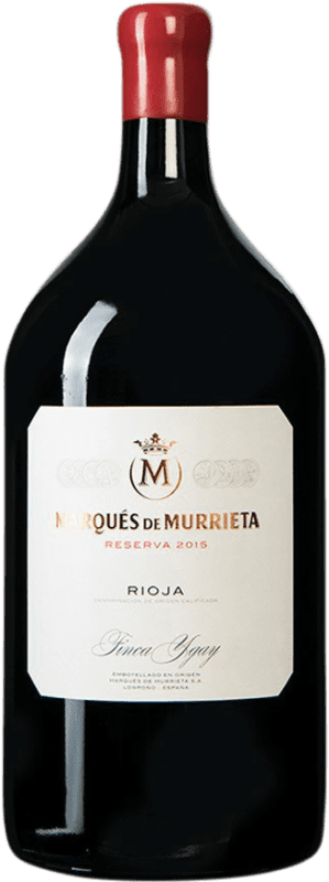 107,95 € Free Shipping | Red wine Marqués de Murrieta Reserva D.O.Ca. Rioja Spain Jéroboam Bottle-Double Magnum 3 L