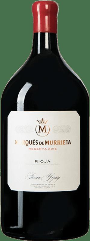 86,95 € Envío gratis | Vino tinto Marqués de Murrieta Reserva D.O.Ca. Rioja España Botella Jéroboam-Doble Mágnum 3 L