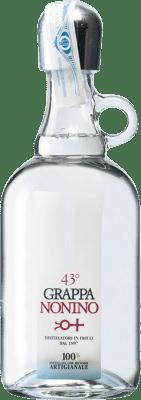 26,95 € Free Shipping | Grappa Nonino Italy Friulano Bottle 70 cl