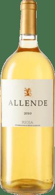 72,95 € Free Shipping | White wine Allende 2010 D.O.Ca. Rioja Spain Viura, Malvasía Magnum Bottle 1,5 L