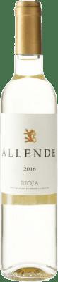12,95 € Envío gratis | Vino blanco Allende D.O.Ca. Rioja España Viura, Malvasía Botella Medium 50 cl