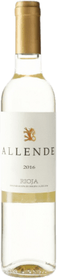 18,95 € Free Shipping | White wine Allende D.O.Ca. Rioja Spain Viura, Malvasía Medium Bottle 50 cl