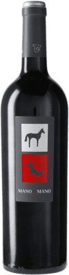 14,95 € Free Shipping | Red wine Mano a Mano D.O. La Mancha Castilla la Mancha Spain Tempranillo Bottle 75 cl