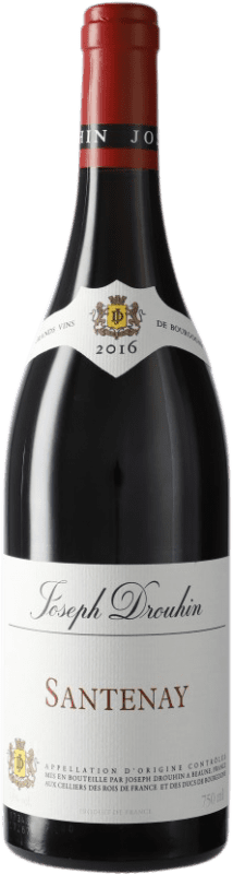 25,95 € Free Shipping | Red wine Drouhin A.O.C. Santenay Burgundy France Pinot Black Bottle 75 cl