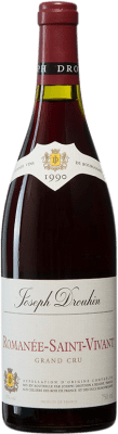1 137,95 € Free Shipping | Red wine Drouhin 1990 A.O.C. Romanée-Saint-Vivant Burgundy France Pinot Black Bottle 75 cl