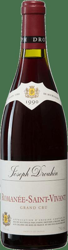 1 131,95 € Envoi gratuit | Vin rouge Drouhin 1990 A.O.C. Romanée-Saint-Vivant Bourgogne France Pinot Noir Bouteille 75 cl
