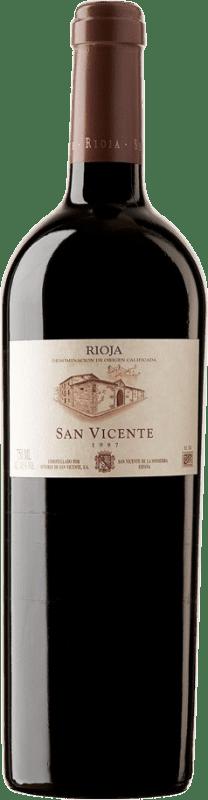 1 107,95 € Kostenloser Versand | Rotwein Señorío de San Vicente 1997 D.O.Ca. Rioja Spanien Tempranillo Haarig Botella Nabucodonosor 15 L