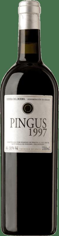 805,95 € Envío gratis | Vino tinto Dominio de Pingus 1997 D.O. Ribera del Duero Castilla y León España Tempranillo Botella 75 cl