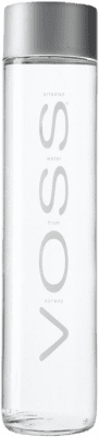 4,95 € Envío gratis | Agua VOSS Water Noruega Botella 80 cl