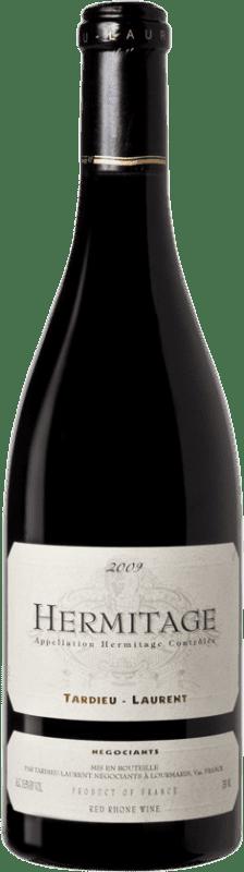 97,95 € Envío gratis | Vino tinto Tardieu-Laurent 2009 A.O.C. Hermitage Francia Syrah, Serine Botella 75 cl