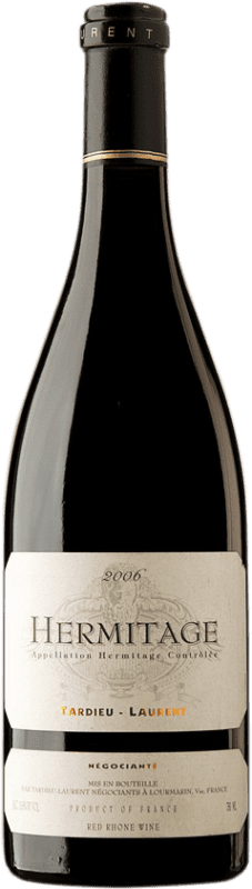 97,95 € Envío gratis | Vino tinto Tardieu-Laurent 2006 A.O.C. Hermitage Francia Syrah, Serine Botella 75 cl