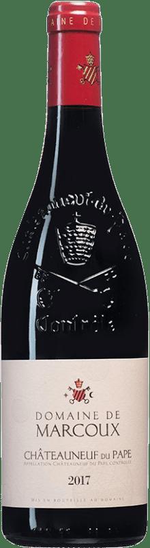 49,95 € Free Shipping | Red wine Domaine de Marcoux A.O.C. Châteauneuf-du-Pape France Syrah, Grenache, Mourvèdre, Cinsault Bottle 75 cl