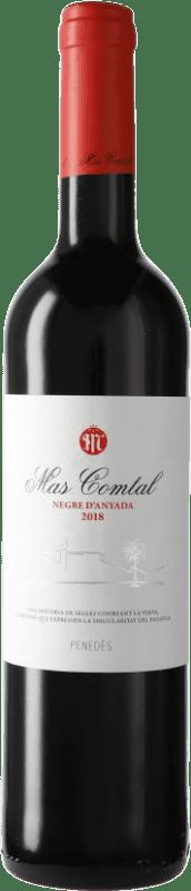 7,95 € Free Shipping | Red wine Mas Comtal D.O. Penedès Catalonia Spain Merlot, Cabernet Sauvignon Bottle 75 cl