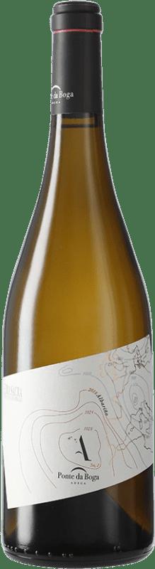 16,95 € Envío gratis | Vino blanco Ponte da Boga D.O. Ribeira Sacra Galicia España Albariño Botella 75 cl