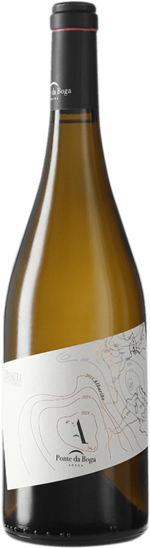 16,95 € Free Shipping | White wine Ponte da Boga D.O. Ribeira Sacra Galicia Spain Albariño Bottle 75 cl