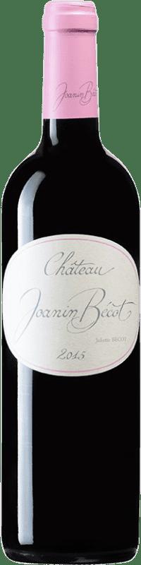 24,95 € Free Shipping | Red wine Château Joanin Bécot A.O.C. Côtes de Castillon Bordeaux France Merlot, Cabernet Franc Bottle 75 cl