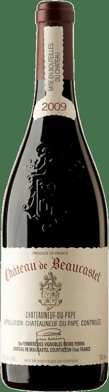 77,95 € Free Shipping   Red wine Château Beaucastel 2009 A.O.C. Châteauneuf-du-Pape France Syrah, Grenache, Mourvèdre Bottle 75 cl