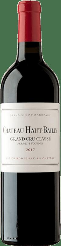 79,95 € Free Shipping | Red wine Château Haut-Bailly A.O.C. Pessac-Léognan Bordeaux France Merlot, Cabernet Sauvignon, Cabernet Franc Bottle 75 cl