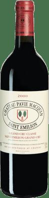 151,95 € Free Shipping | Red wine Château Pavie-Macquin 2000 A.O.C. Bordeaux Bordeaux France Merlot, Cabernet Sauvignon, Cabernet Franc Bottle 75 cl