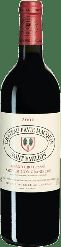 129,95 € Free Shipping | Red wine Château Pavie-Macquin 2000 A.O.C. Bordeaux Bordeaux France Merlot, Cabernet Sauvignon, Cabernet Franc Bottle 75 cl