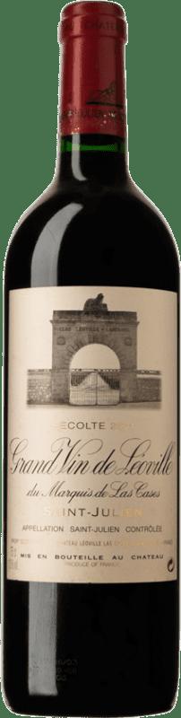 292,95 € Free Shipping   Red wine Château Léoville Las Cases 2001 A.O.C. Saint-Julien Bordeaux France Merlot, Cabernet Sauvignon, Cabernet Franc Bottle 75 cl